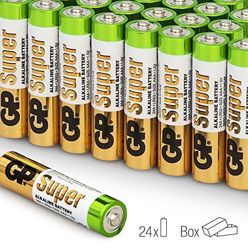 GP Micro AAA Super Alkaline Batterien im 24-er Vorteils-Pack (LR03 Multipack 24 Stück) - 4