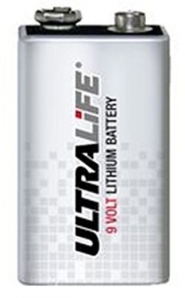 Lithium Batterie Ultralife Typ U9VL-J 9V-Block, 9V, Lithium, 9 V - 1