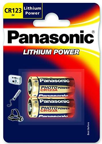 Panasonic CR-123A Kamera Batterie Lithium (VE2) - 1