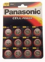 Panasonic CR2025-C12 Lithium-Batterien / Knopfzellen, 12 Stück - 1