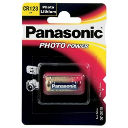 Panasonic Lithium CR123A 3V 1400mAh - 1