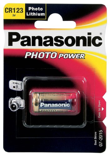 Panasonic Lithium CR123A 3V 1400mAh - 2