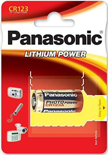 Panasonic PACR123A_10 Photo Lithium Batterie (3 Volt, 10-er Pack) - 1