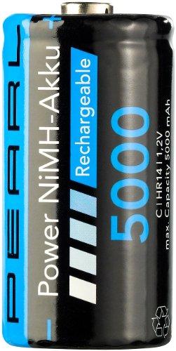 PEARL NiMH-Akku Babyzelle Typ C 5000 mAh - 1
