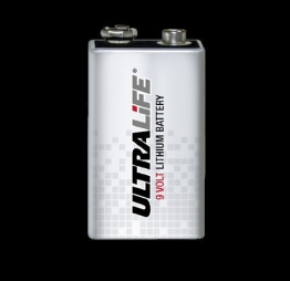 Ultra Life Lithium 9V U9VL-J Power Cell 1200mAh 1er Pack - 1