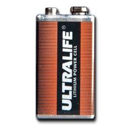 Ultralife Lithium Batterie 9 Volt, E-Block, U9VL, U9VL-J - 2