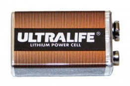 Ultralife Lithium Batterie 9V 1200mAh - 1