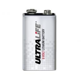 Ultralife U9VL Lithium Batterie 9 V, E-Block (U9VL, U9VL-J, 1,2Ah) - 1