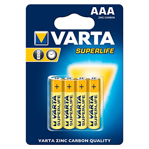 VARTA 2947 Superlife 2003 Batterie AAA Micro - 1