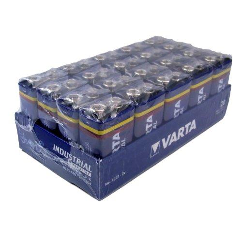 Varta Industrial 4022 6LR61 9V-Block (20-er Pack) - 1