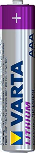 Varta Lithium Mikro AAA Batterie (4-er Pack) - 2