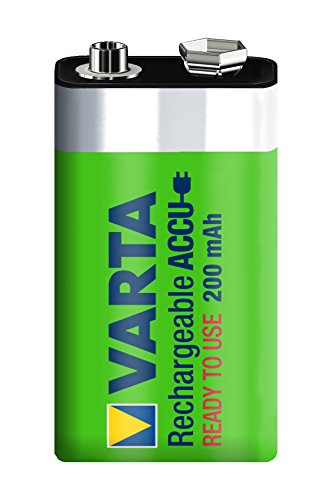 Varta Power Accu NiMH Akku 9V-Block 200 mAh - 2