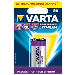 Varta Professional Lithium 9V Batterie - 1