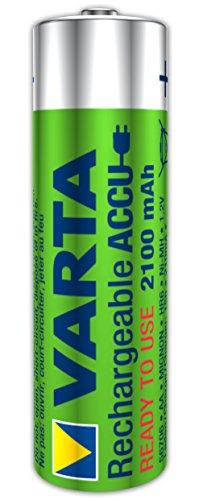 Varta Rechargeable Accu Ready2Use AA Mignon Ni-Mh Akku (4-er Pack. 2100 mAh) - 2